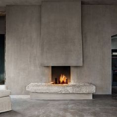 Fantastic Photographs lime Stone Fireplace Strategies Past, Present & Future: The TriBeCa Penthouses at The Greenwich Hotel Home Fireplace, Brick Fireplace, Fireplace Design, Fireplace Ideas, Modern Fireplace Mantles, Fireplace Makeovers, Fireplace Garden, Fireplace Cover, Modern Fireplaces