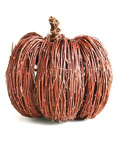 Take a look at this Large Vine Pumpkin by tag on #zulily today! $20 !!