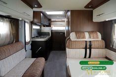 Roller Team T-Line Garage - l'interno Roller Team, T Line, Bunk Beds, Garage, Magazine, Furniture, Home Decor, Caravan Van, Carport Garage
