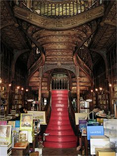 Livraria Lello & Irmão   3rd Best Architectural Book Store in the World   Most Beautiful Pages