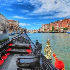Escape to #Venice and explore the cities winding canals. Photo courtesy of mtheissen on Instagram.