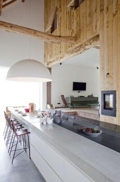 Contemporary Kitchen | Architect Bart Lens