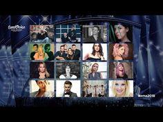 """Slowenien: 16 Kandidaten treten bei """"EMA 2018"""" an! Photo Wall, Frame, Slovenia, Picture Frame, Photograph, Frames"""