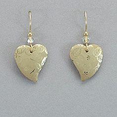 Holly Yashi Healing Heart Earrings - Gold