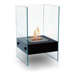 Hudson Outdoor Fireplace