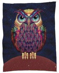Owl 2-Fleecedecke