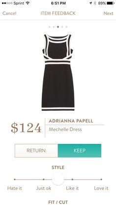 Adrianna Papell Mechelle Dress. Love this, but not my size. #Stitchfix 13 #Papell #Mechelle