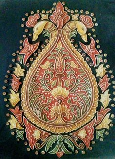 Easy Canvas Painting, Mural Painting, Fabric Painting, Rajasthani Painting, Rajasthani Art, Kalamkari Painting, Madhubani Painting, Lotus Painting, Plaster Art