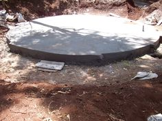 Tank ready for water storage.