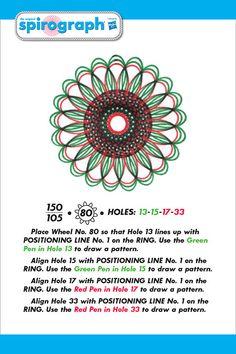 Zap Spiro Arte Nueva creativa Juguetes Sprio Art Designs Spirograph hilanderos