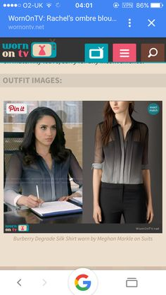 Rachel zane character from suits tv show