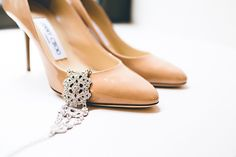 Did we mention ~ beautiful bracelet, beautiful shoes ....... on http://StyleMePretty.com/new-york-weddings/2012/04/16/new-york-city-wedding-at-battery-gardens-by-elizabeth-rich-photography/ Photography by elizabethandrich.com