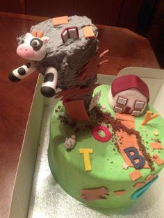 Tornado birthday cake Monster Truck Birthday, Monster Trucks, Tornado Cake, Tornadoes, Tom And Jerry, Natural Disasters, Baking Ideas, Cake Cookies, Birthday Cakes