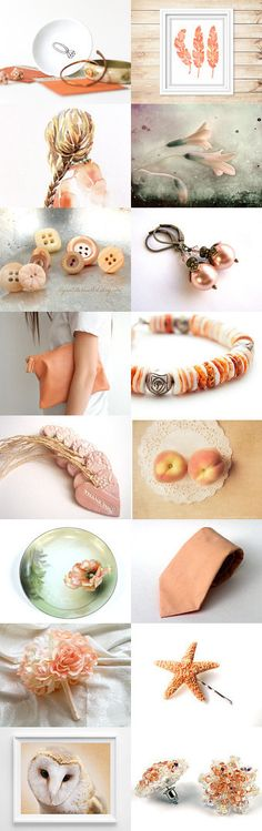 Peachy Pink Details by Ayşegül Ç. on Etsy--Pinned with TreasuryPin.com
