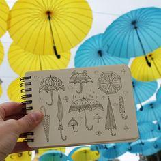 Day 61 of #The100DayProject Umbrella #100DaysOfDrawingThingsInDifferentVariations #yuliiabahniuk #illustration #doodle #doodling #ethnic #tribal #ornament #drawing