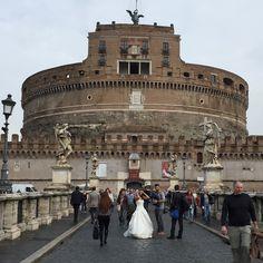 Castel Sant'Angelo #receitaitaliana #italia #italy #roma #rome #beauty #beleza #belezza #Castelsantangelo #casamento #wedding #noiva #bride