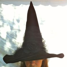 Witch Hat Elegant Black Hat Society Witches by MermaidenCreations
