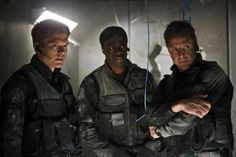 Flashpoint ~ Season 4, Episode: Shockwave ~ Sam, Raf, and Spike