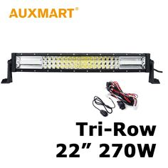 99.74$  Watch here - http://alik88.worldwells.pw/go.php?t=32725994111 - Auxmart LED Work Light Bar 22 inch 270W CREE Chips Straight Offroad LED Bar Fit Pickup Truck SUV 4X4 4WD Trucks Tractor Trailer 99.74$