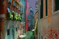 Seriously one of my favorite places- Venice, Italy. Just the canal sign brings me back....aaaahhhhhhhh