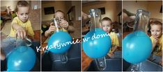 Balonowo-wodne eksperymenty | Kreatywnie w domu Diy And Crafts, Projects To Try, Exercise, Art, Ejercicio, Excercise, Tone It Up, Kunst, Work Outs