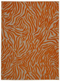 Nourison Aloha (ALH04) Orange Rectangle Area Rug, 5-Feet 3-Inches by 7-Feet 5-Inches (5'3' x 7'5') *** See this awesome image  (This is an amazon affiliate link. I may earn commission from it)