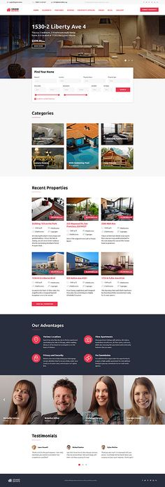 Real Estate  #website #template #html5 #bootstrap #themes #template Download : http://www.themecrea.com/website-templates-type/58944.html