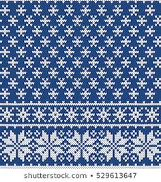 Christmas Sweater Design. Snowflakes Seamless Knitting Pattern Knitting Charts, Knitting Patterns, Knit Crochet, Crochet Bags, Snowflake Pattern, Sweater Design, Decoration, Snowflakes, Purses And Bags