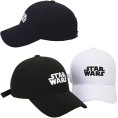 New Mens Womens STAR WARS Logo Original Trucker Baseball Strapback Hats Ball Cap #hellobincom #BaseballStrapbackCapHats