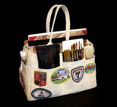 Harbor Freight Bag. Brenda Swenson: The Artist Sketchbag