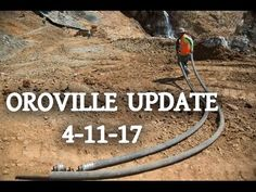 New Video Images | Lake Oroville Dam Update 4/11/17 | Oroville Dam Spill...