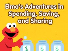 Sesame Street Tools for Teaching Kids About Money Teaching Money, Tools For Teaching, Teaching Kids, Kids Learning, Infant Activities, Learning Activities, Activities For Kids, Teachers Be Like, Teaching Social Studies