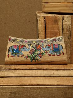 Madhubani Art, Madhubani Painting, Painted Silk, Hand Painted, Silk Painting, Here Comes The Bride, Loom, Clutches, Purses