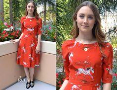 Saoirse Ronan In Tabitha Webb – 'The Host' LA Press Conference