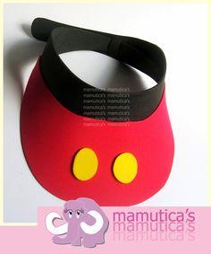 Mamutica's: Cintillos o diademas y viseras de Minnie y Mickey Mouse