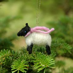 Sheep are our signature item. We started with felt balls and needle felted sheep. Weve expanded into so many different types of animals since