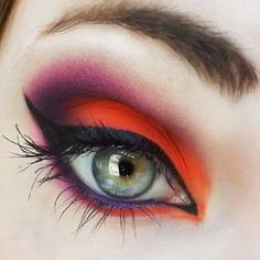 Orange Sunset   Only a few more days to head to makeupbee and LUV this look! I'm so close to the top 10! I'd appreciate your votes more than anything! <333