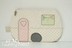 My country nest: cute pouches