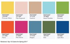 Pantone 2017 Color Trend Predictions - The Decorologist