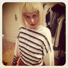 PULP #etiennejeanson #couture #paris #instantanésdecollection #luxe #fashion #france #pfw #sweatshirt #embroidery @anastasia_booooo