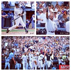 It's been 3 years since Derek Jeter became the 1st Yankee to reach 3,000 hits. #tbt #ThrowbackThursday