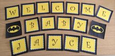 Batman Baby Shower Banner by Ready, Set Party!! on Etsy, $9.28