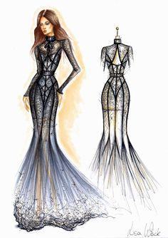 Wedding Dress Sketches, Dress Design Sketches, Fashion Design Sketchbook, Fashion Design Drawings, Fashion Sketches, Fashion Drawing Tutorial, Fashion Figure Drawing, Fashion Drawing Dresses, Fashion Illustration Dresses