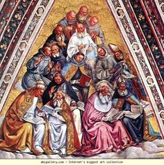 Luca Signorelli. The Doctors of the Church.