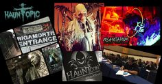 We just got back from HAuNTcon 2016, the Haunted Attraction National Tradeshow & Convention, and grabbed some great audio interviews from the show. We also discuss the highlights that we felt were the best parts of the convention for us. Plus, some new updates from the people and events surrounding the trade show. What is HAuNTcon? HAuNTcon brings together people who love Haunted Houses, Halloween and scaring people. Four fun-filled days and nights of Haunted Attraction Tours, Haunter…