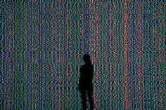 This Glitch Art Video Wall Is Like Being Inside a Broken Computer | The Creators Project