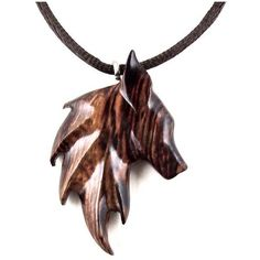 Amazon.com: Fox Necklace Pendant Fox Jewelry Hand Carved in Cocobolo... (£25) ❤ liked on Polyvore featuring jewelry, wooden jewelry, wood pendant, wood carved jewelry, pendant jewelry and wood jewelry