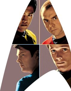 Sulu, Scotty, McCoy, Chekov