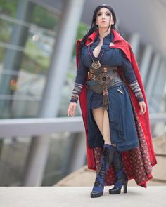 marvel dr strange genderbend at DuckDuckGo Epic Cosplay, Amazing Cosplay, Cosplay Outfits, Cosplay Girls, Bd Comics, Comics Girls, Marvel Girls, Marvel Dc, Female Marvel Cosplay