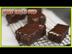 Fast And Easy Brownies Recipe - YouTube